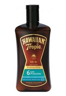 HAWAIIAN TROPIC BRONZING OIL - 200ml FPS 6